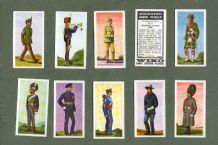 TRADE  cards set Soldiers of the World 1969